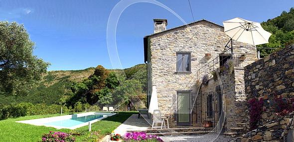 Rapallo - villetta in pietra in vendita a Chignero