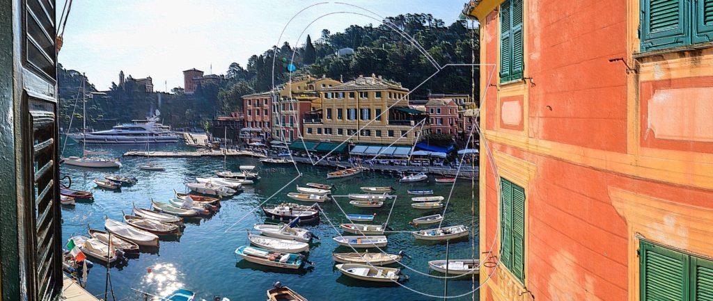Affascinante appartamento in vendita sulla piazzetta di Portofino