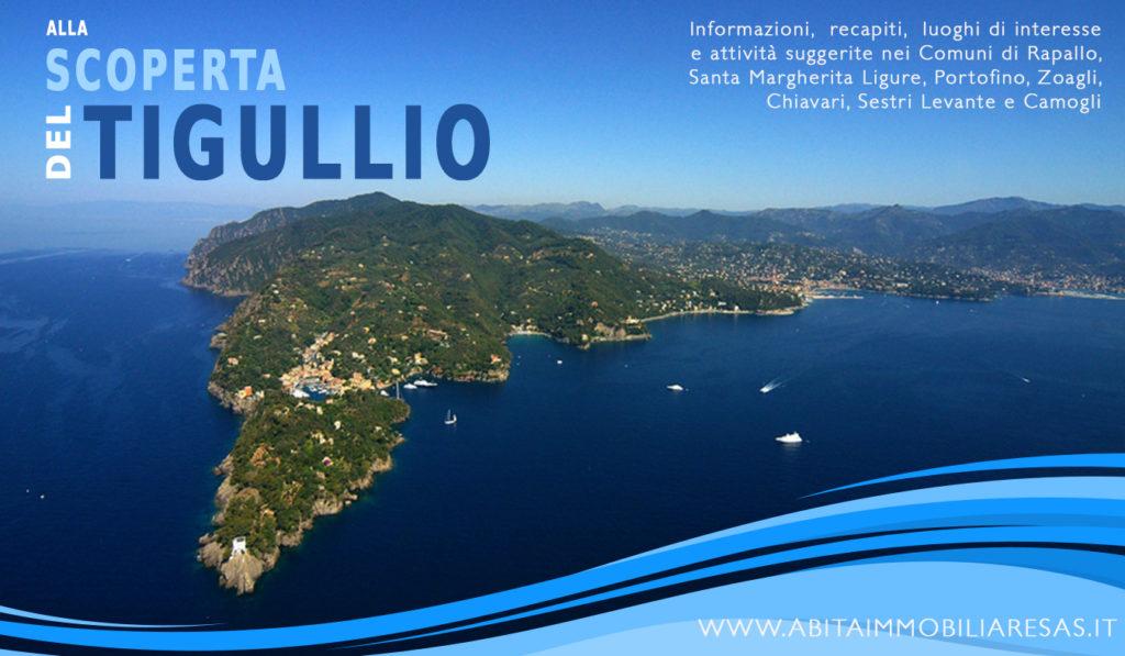 Tigullio entdecken - praktischer Führer, Informationen und Sehenswürdigkeiten in den Gemeinden Rapallo, Santa Margherita Ligure, Portofino, Chiavari, Sestri Levante und Camogli