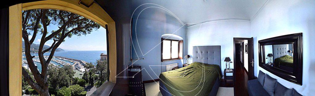 San Michele di Pagana - Appartamento in villa d'epoca vista mare