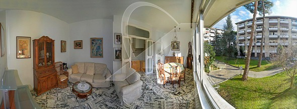 Two-room flat for sale in RAPALLO close to the GOLF COURSE