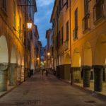 What to visit in Chiavari - medieval portici