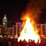 manifestazioni e eventi a Portofino  - festa falò di San Giorgio Portofino