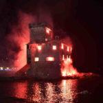 Feste di Luglio Rapallo  - Incendio del castello