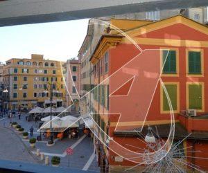 Nel cuore di RAPALLO affacciato su Piazza Cavour vendesi appartamento a 100 m. dal mare