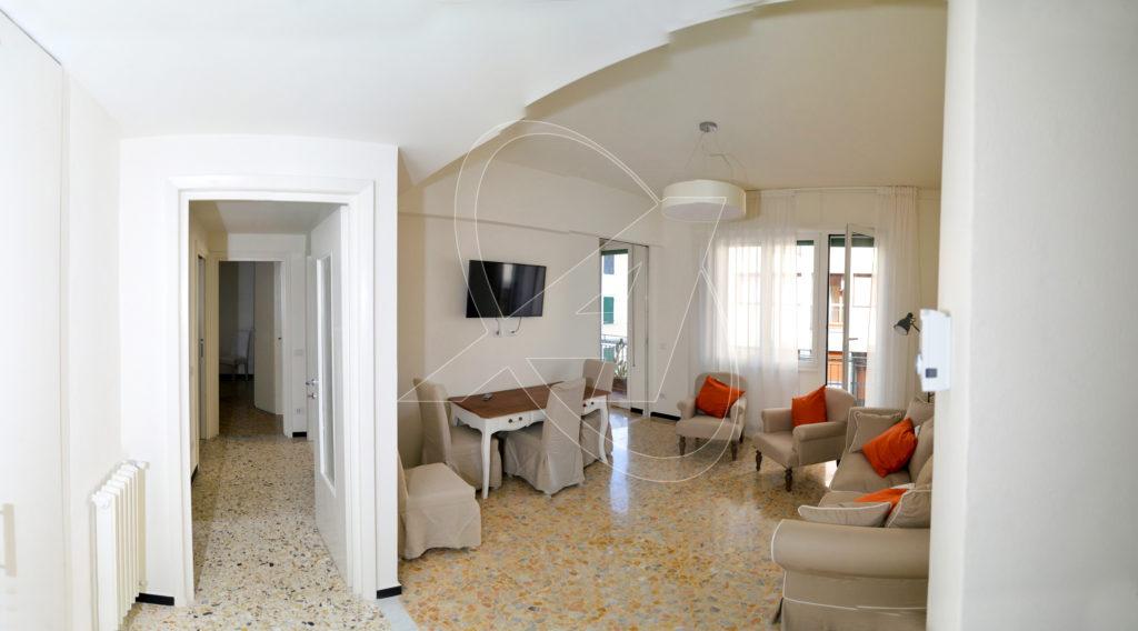 RAPALLO Appartamento nuovo in zona pedonale a 20 metri dal mare