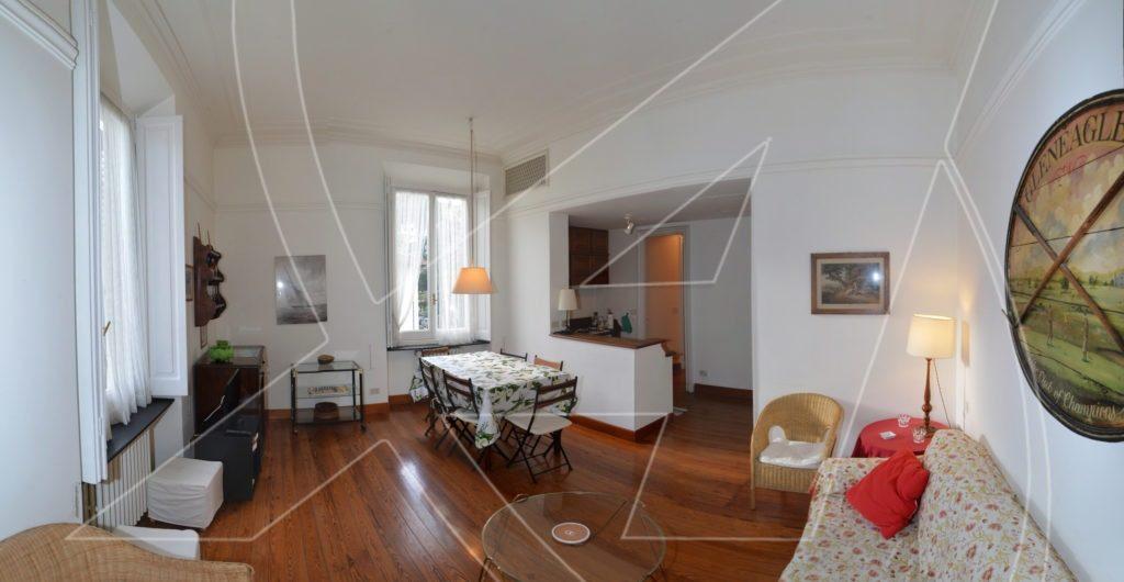 RAPALLO Zona porto - Affitto appartamento in villa signorile con posto auto
