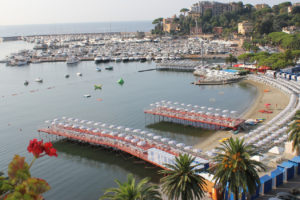 Rapallo promenade