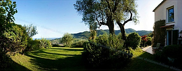 S. MARGHERITA Ligure antico frantoio vista mare sulla strada per San Lorenzo