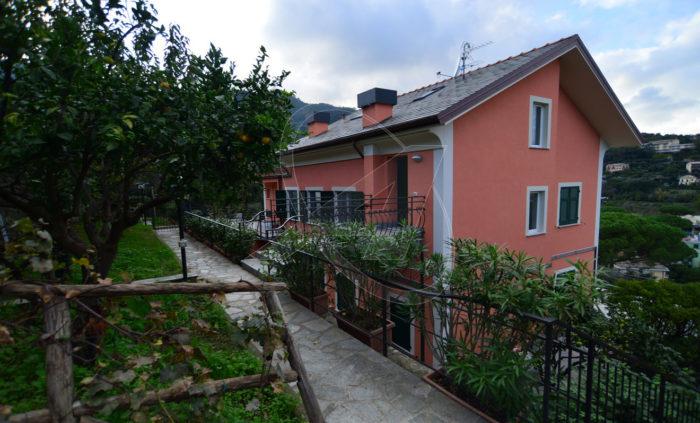 S.MARGHERITA LIGURE vendesi appartamento ristrutturato in villetta genovese - Zona Corte