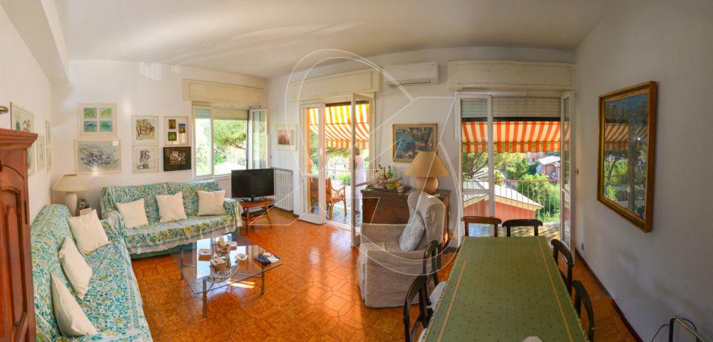 S.Margherita Ligure - Appartamento con giardino a due passi dal centro