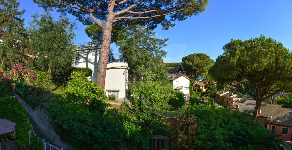 Vendesi a S. Margherita Ligure - Appartamento con giardino e terrazza in vendita a due passi dal centro