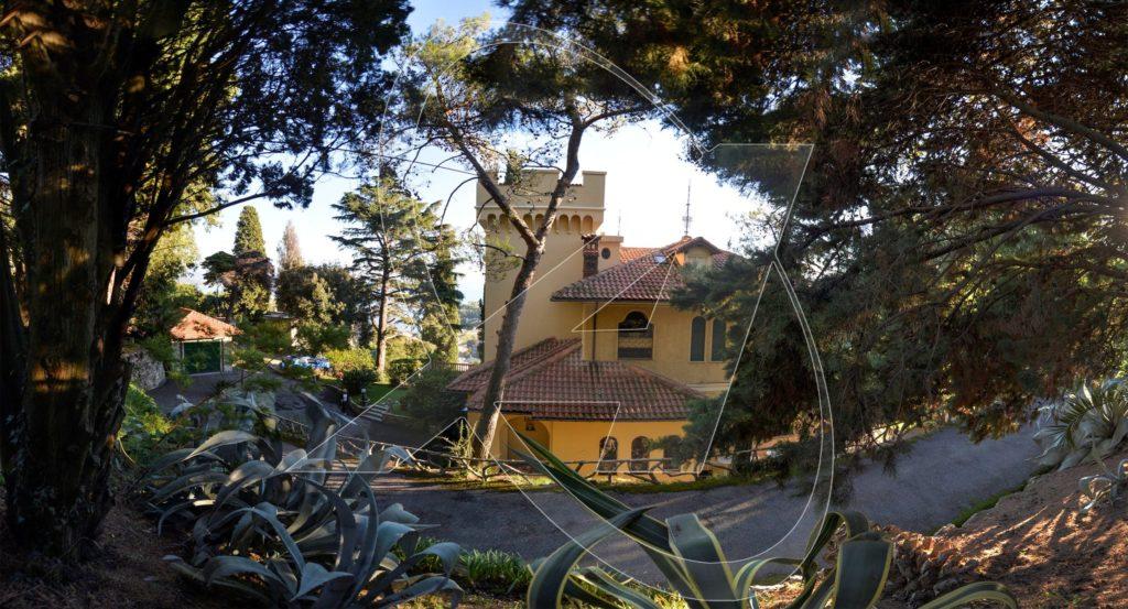 San Michele di Pagana - villa in affitto vista mare con parco e giardino privati