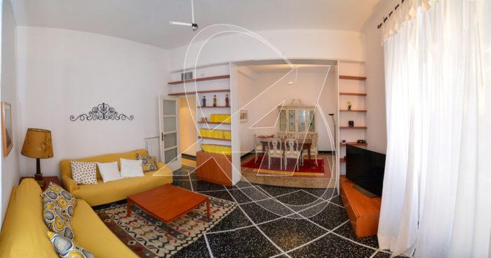 S.Margherita Ligure affitto appartamento arredato, con ascensore in zona Corte - porto