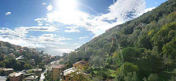 Vendesi villetta vista mare a Zoagli - vista