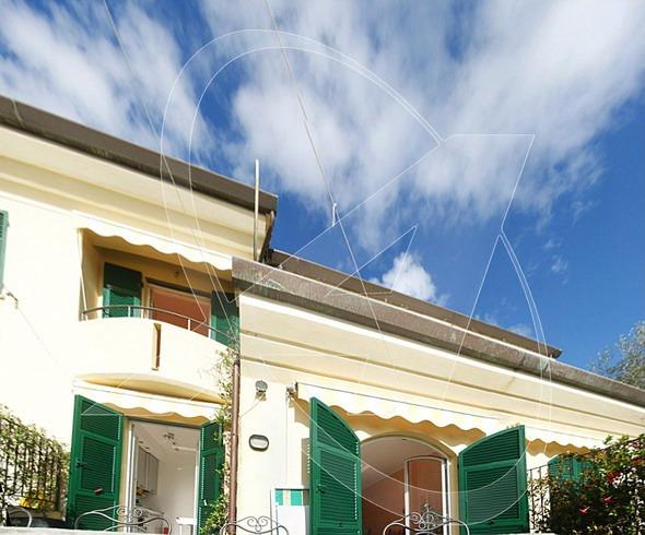 Villetta vista mare in vendita a Zoagli