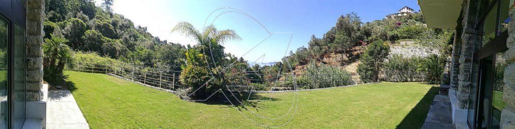 Appartamento con giardino e vista mare in vendita a Zoagli