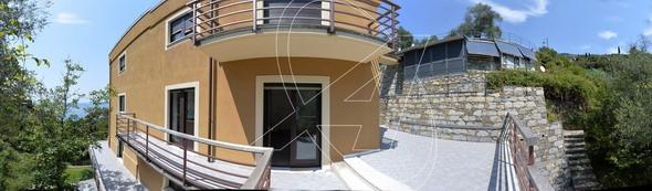 Appartamento con piscina e vista mare in vendita a ZOAGLI - zona Marina