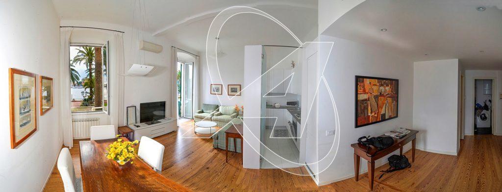 RAPALLO appartamento sul lungomare con ascensore e terrazzino