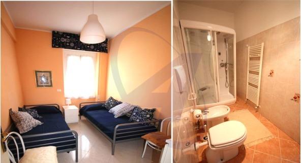 Appartamento in affitto a Rapallo - camera a due letti