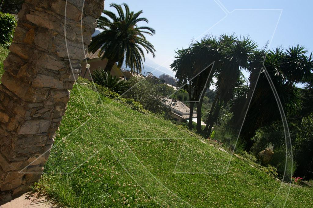 vendesi Villa con piscina a Rapallo zona porto
